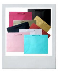 Paper Bag Black | BULK Wholesale | 100pcs | Gift Party | 5 ...